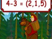 Математика з Машею і Ведмедем