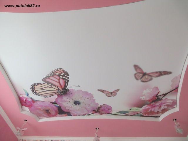 Натяжные потолки в Симферополе, Крыму. - фото 3