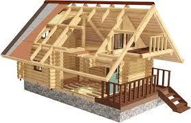 Дерев'яне дома - фото 4