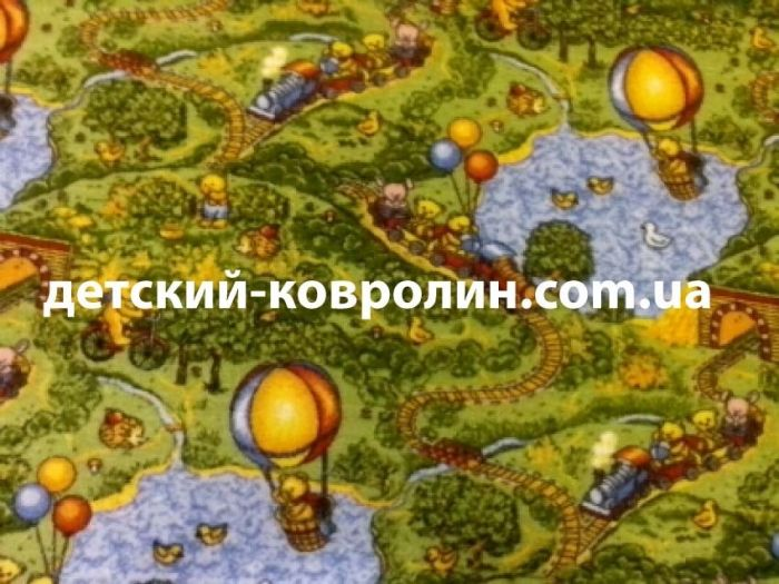 Ковролин в детскую комнату Малиновка.