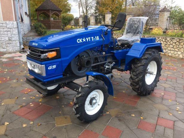 Трактор Скаут 18 (Garden Scout ) 18 к.с +фреза+ ЗИП + 2 роки - фото 2