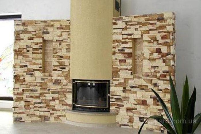 Декоративный камень Аляска - классика облицовки интерьеров. - фото 4
