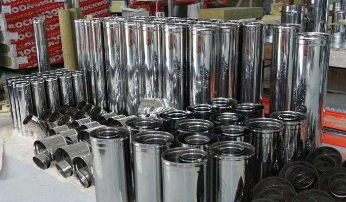Дымоходы из нержавеющей стали от производителя, Днепр - фото