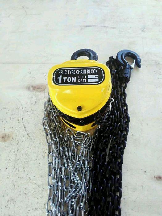 Таль ручная цепная. Грузоподъемность 1-5 тонн. Днепр - фото