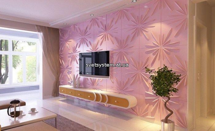 3Д стены, Новинки в 3D панелях - фото 2