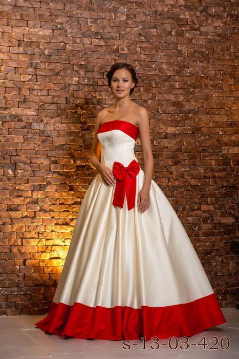 Свадебное Платье Красное Купить В Спб
