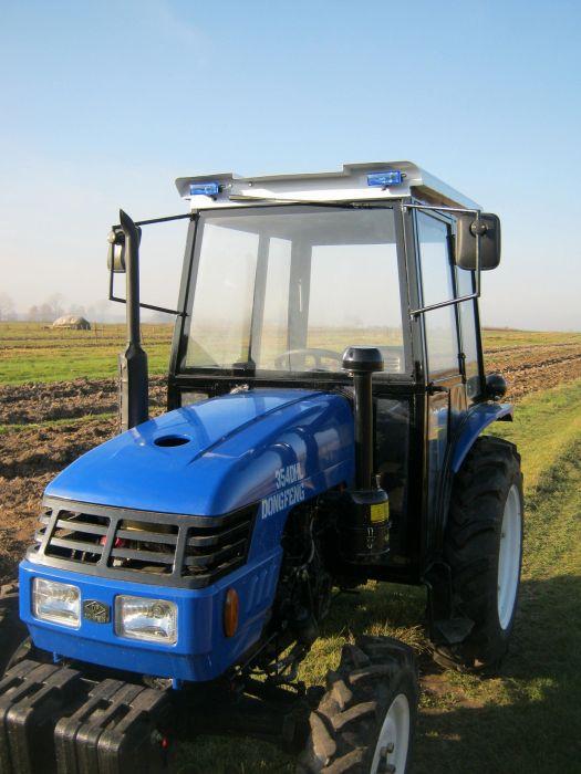 Как сделать трактор с кабиной