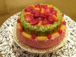 Торт на заказ из натуральных продуктов от кафе-цукерни