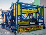 Вібропрес УПБ-ФО для виробництва залізобетонних виробів