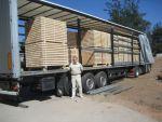 Палетна заготовка з доставкою на Експорт