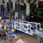 Конвеєр стрічковий пересувний судопогрузочная машина
