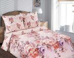 Купить ткани для постельного белья в розницу, Поплин Карамел