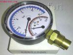 "Термоманометр вертикальный 1/2""-120°C-10bar Watts"