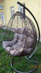 Підвісні садові гойдалки. Підвісне крісло-капля