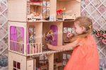 Ляльковий будиночок для Барбі! Меблі в подарунок!
