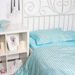 Дитяче постільна білизна в ліжечко Польща, Графітові зірок