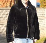 Чоловіча куртка, хутро бобер. Індивідуальний пошив виробів з