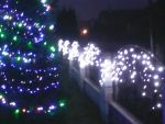 Святкове оформлення фасадів світлодіодами