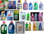 Побутова хімія і пральні порошки з Європи