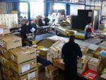 Потрібні чоловіки на сортування поштових посилок