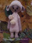 Вязанная овечка Лупо