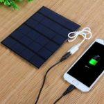 Солнечная батарея панель зарядное устройство USB 6 В 4000 мА
