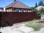 Розпашні ворота проф. аркуша (полімер) 2000*2000