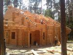 Строительство деревянныйх домов, бань, беседок.