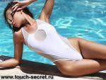 Модный брендовый красивый белый слитный и раздельный купальн