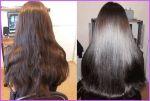 Кератиновое (бразильське) випрямлення волосся БЕЗ формальдегіду! ЛІКУВАННЯ волосся. Японська реконструкція, ламінування волосся.