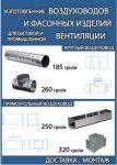 Виготовлення повітропроводів та систем вентиляції.