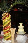 Шоколадний фонтан і фруктова пальма Одеса