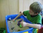 Пісочна терапія для малюків