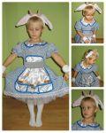 Прокат дитячих карнавальних костюмів в Одесі козеня, козочка