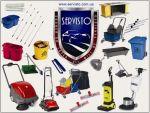Клінінгове обладнання, обладнання для прибирання, обладнання для прибирання, збиральна техніка