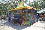 Дитячий ігровий лабіринт «Мадагаскар» з батутом
