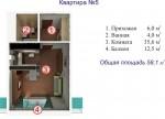 Квартира в новобудові в Ялті