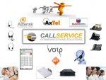 CallService - телефония, VOIP, ІР АТС, GSM шлюзы, интеграция, мини АТС, АТС, Asterisk, SugarCRM