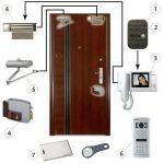 Системы контроля доступом, домофоны, видеодомофоны
