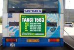 Размещение наружной рекламы на автобусах Полтава