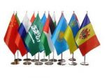 Прапорці корпоративні, прапорці на присосках, прапорці на паличках, прапорці автомобільні, прапорці настільні.