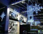 Прикраса будинку в новорічною гірляндою, світлодіодна гірлянда оформлення в Київ