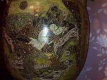 Ручний розпис ваз за легендами і міфам давньої Греції.