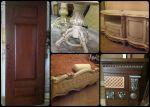 Реставрація, ремонт меблів та виготовлення виробів з дерева