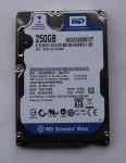 Жесткий диск WD Scorpio Blue 250GB 2.5