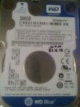 Винчестер (HDD) 2.5 для ноута Sata II 500 гб