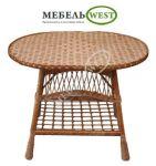 Плетеная мебель для дачи, Стол Простой