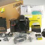 Nikon D800E 36,3 МП цифрова дзеркальна камера - чорний