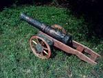 старовинна декоративна козацька гармата