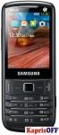 Мобильный телефон Samsung C3782 Onyx Black